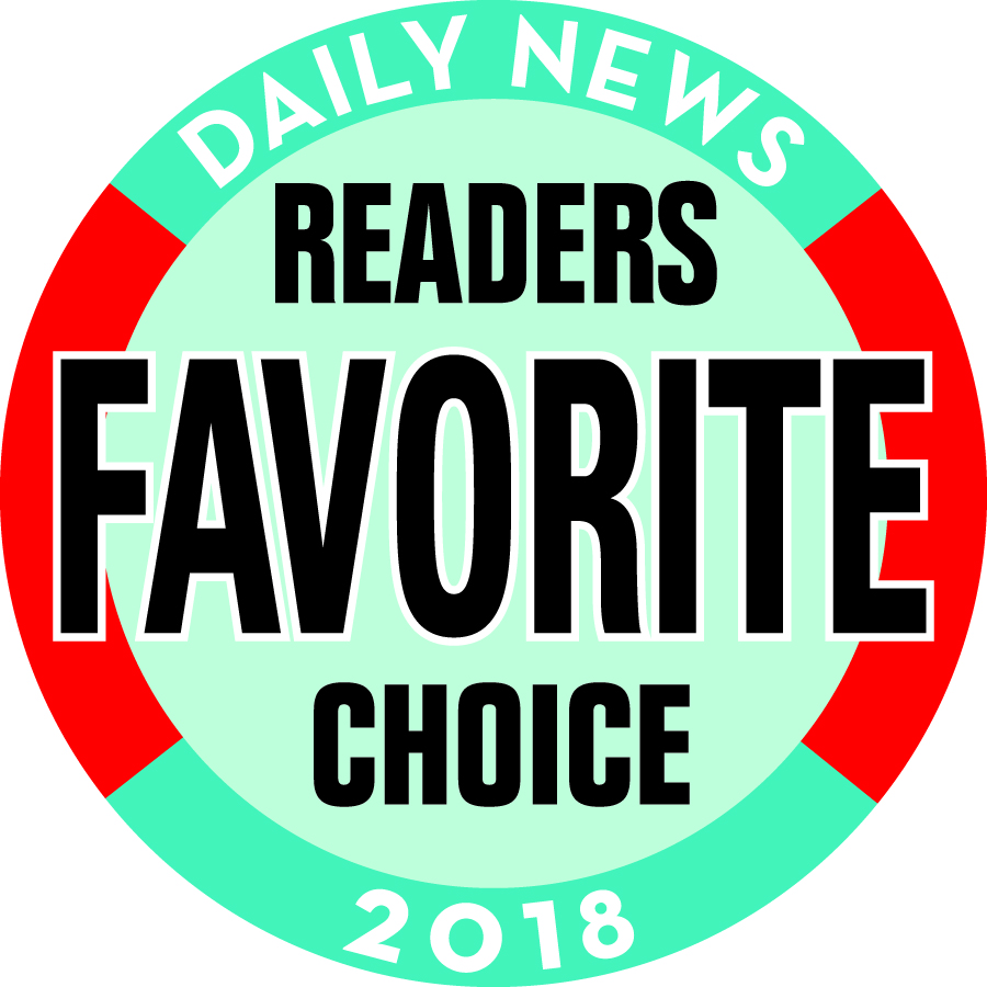 Daily News Readers Favorite Chocie 2017